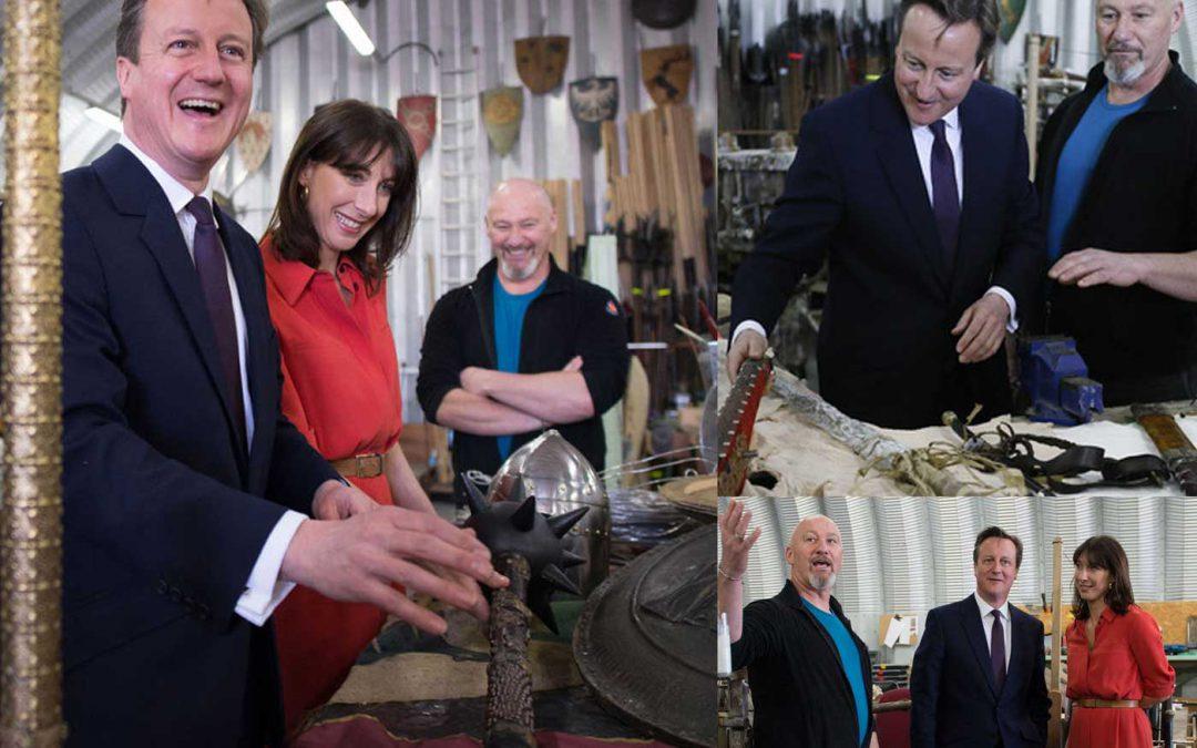 Tommy meets David Cameron