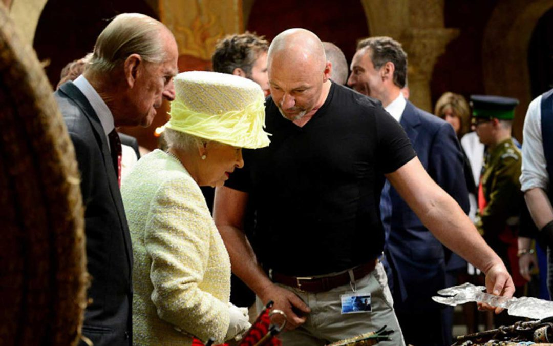 Tommy Dunne Meets The Queen